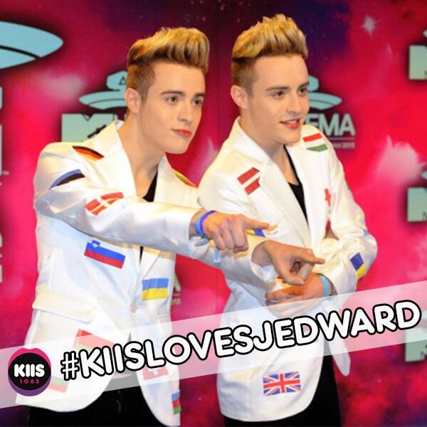 KIIS Loves Jedward