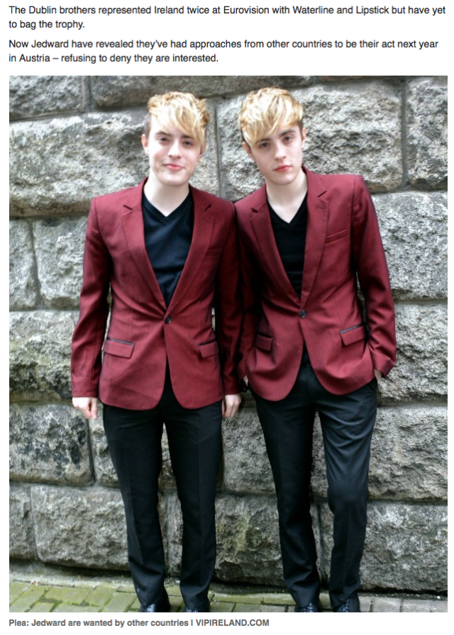 Jedward Willing to defect2