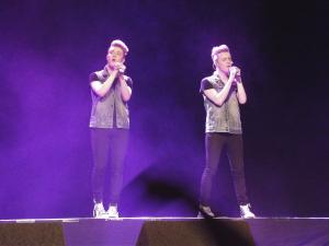 John and Edward at Olympia