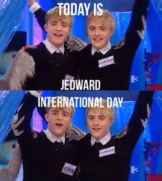 International Jedward Day1